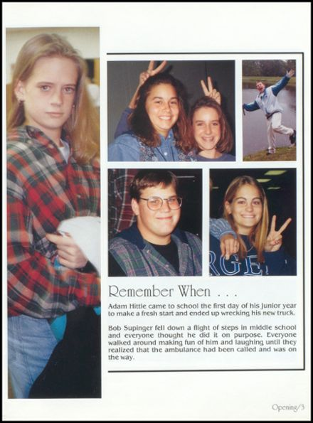 1995 Covington High School Yearbook Page 7