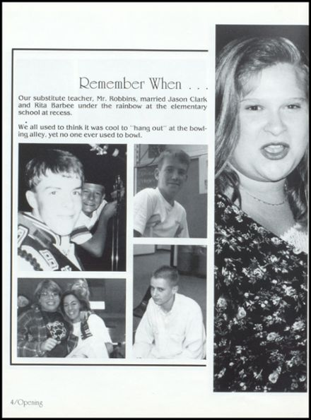 1995 Covington High School Yearbook Page 8