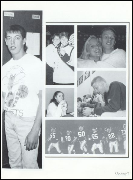 1995 Covington High School Yearbook Page 9