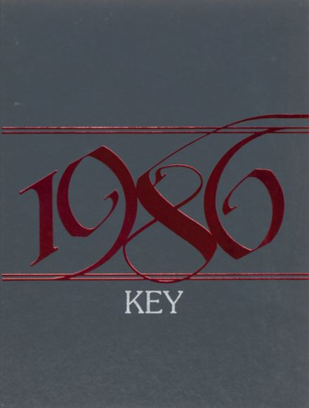 1986 Bishop McGuinness High School Yearbook Cover
