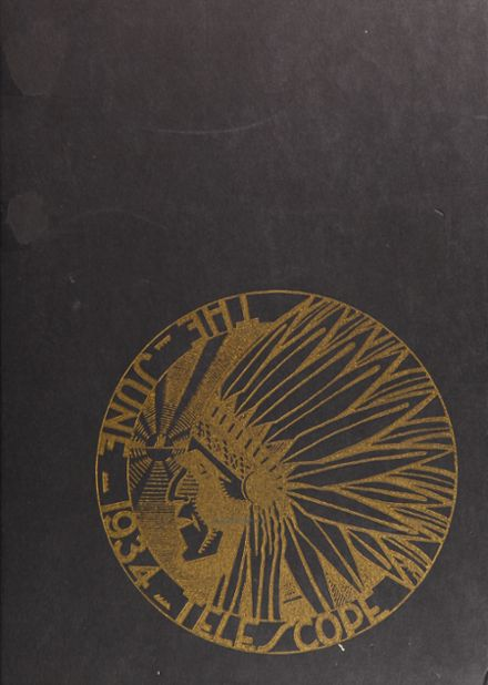 1934 Galileo High School Yearbook Cover