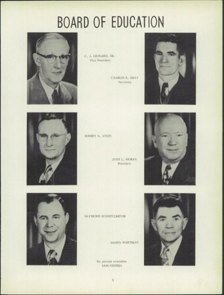 1952 Carlyle High School Yearbook Page 7