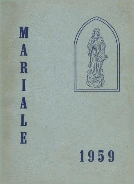 1959 Ravenhill Academy Yearbook Cover