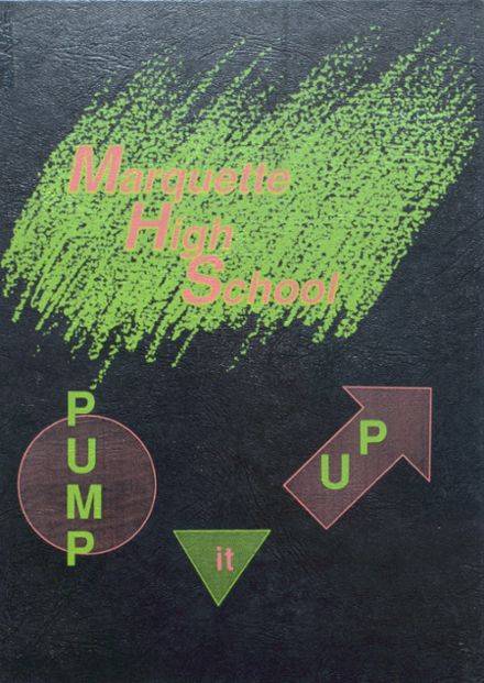 1991 Marquette High School Yearbook Cover