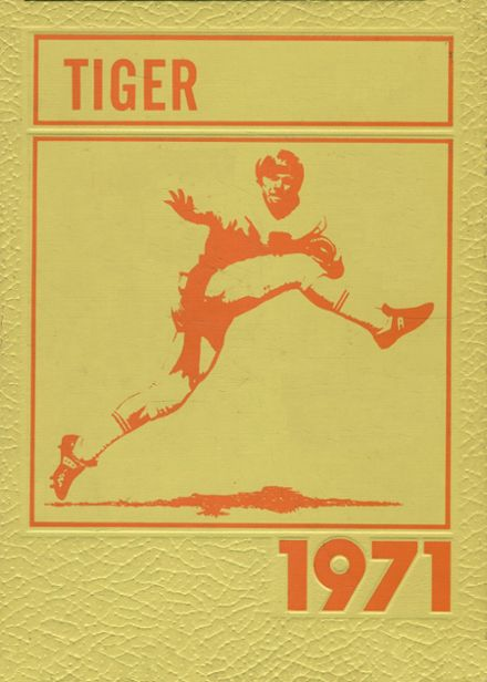 1971 Peterson High School Yearbook Cover