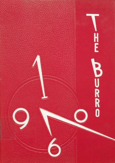 1960 Mineral Wells High School Yearbook Cover