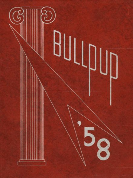 1958 Mcpherson High School Yearbook Cover