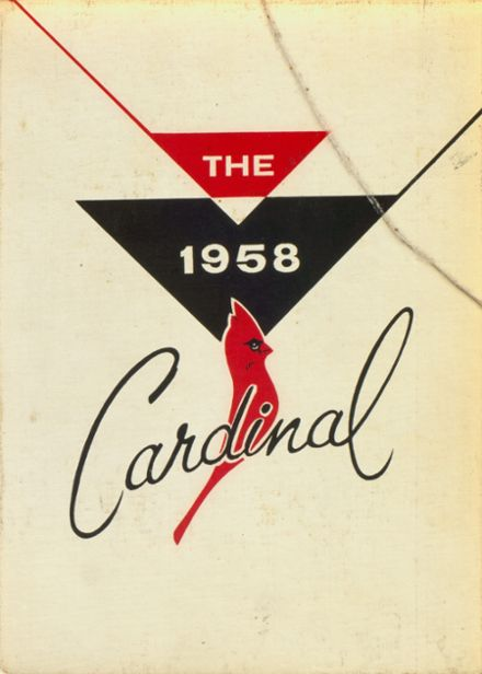 1958 Central High School Yearbook Cover