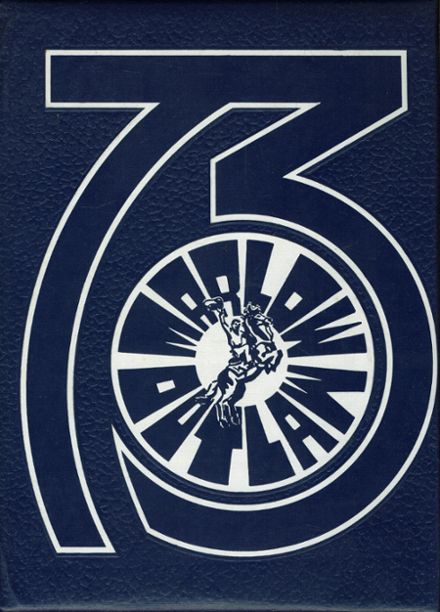 1973 Marlow High School Yearbook Cover