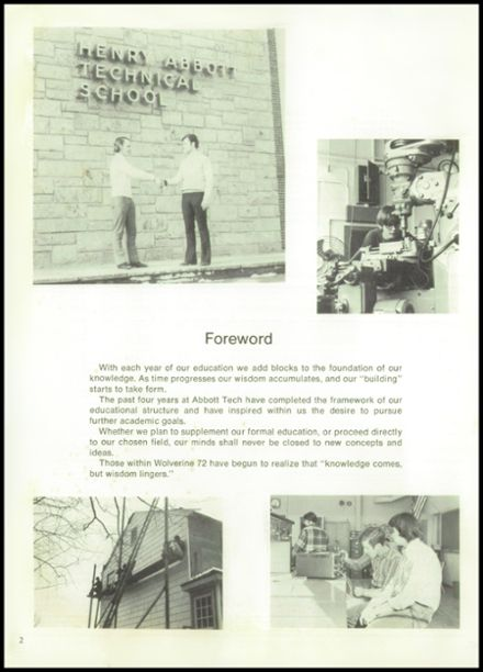 1972 Abbott Technical High School Yearbook Page 6