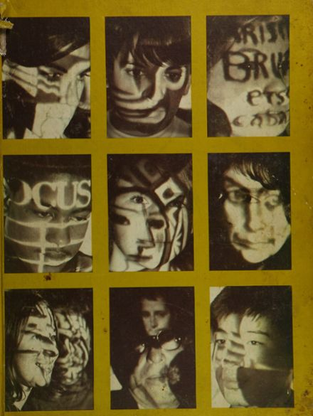 1969 Stamford High School Yearbook Cover
