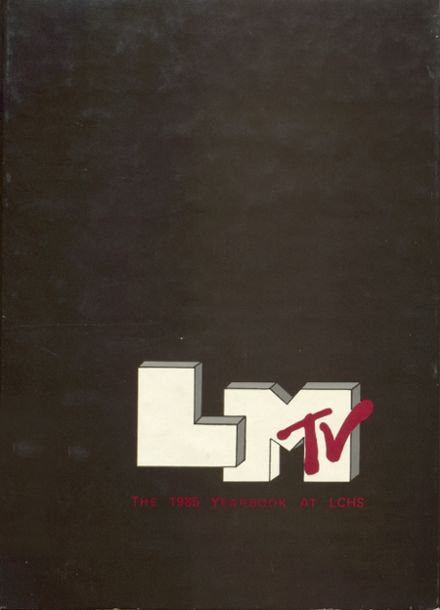1985 Le Mars Community High School Yearbook Cover