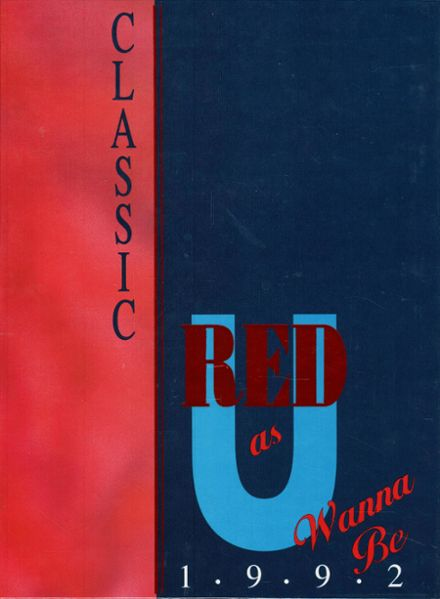 1992 Tremper High School Yearbook Cover