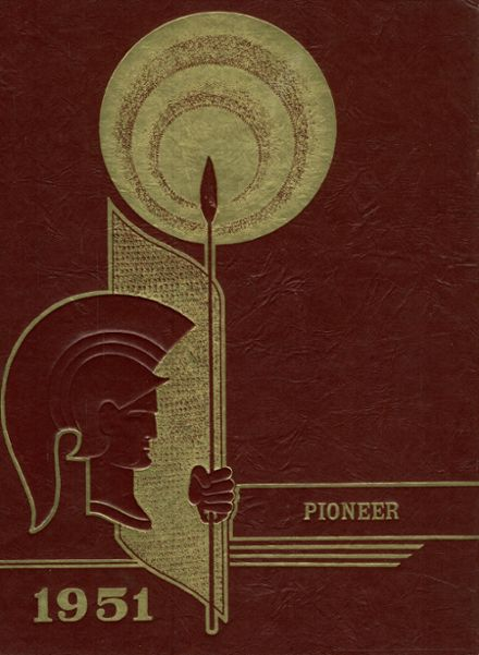 1951 Indianola High School Yearbook Cover