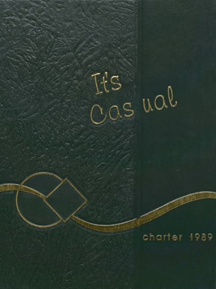 1989 Nogales High School Yearbook Cover