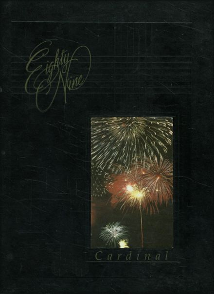 1989 East Central High School Yearbook Cover
