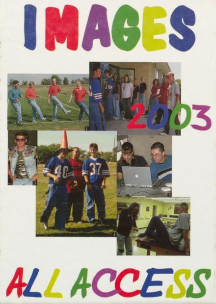 2003 Hi Plains High School Yearbook Cover