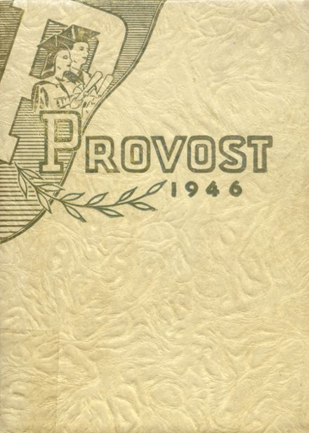 1946 Provo High School Yearbook Cover