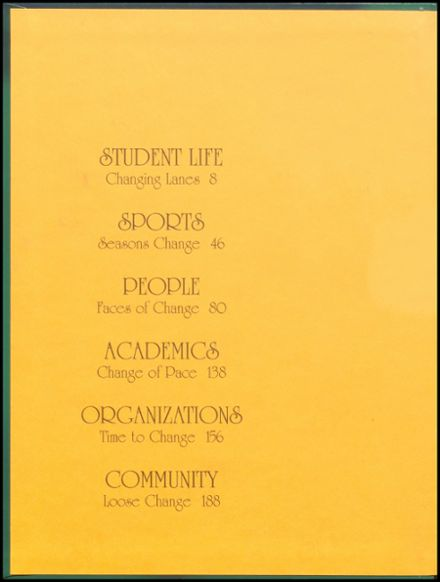 1995 Danville High School Yearbook Page 2