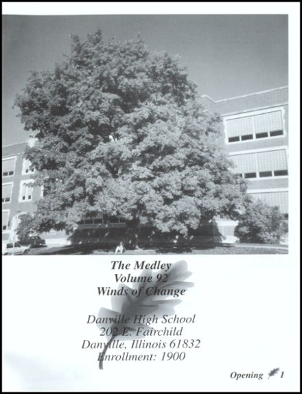 1995 Danville High School Yearbook Page 5