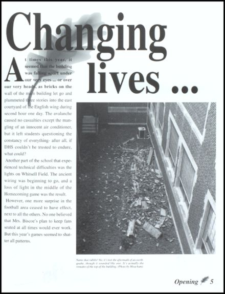 1995 Danville High School Yearbook Page 9