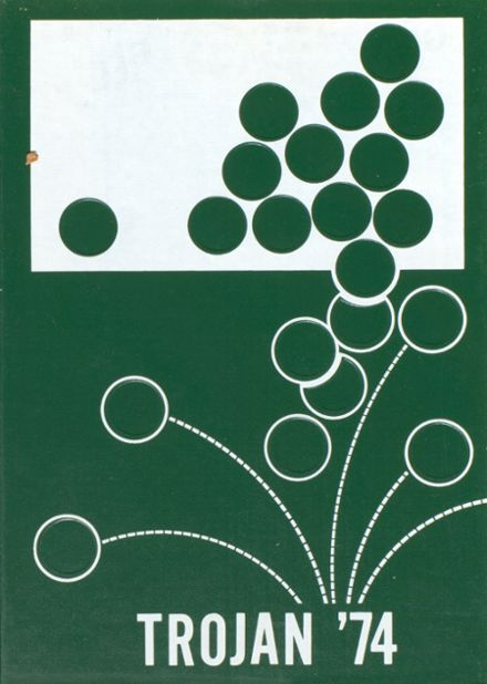 1974 Hampshire High School Yearbook Cover