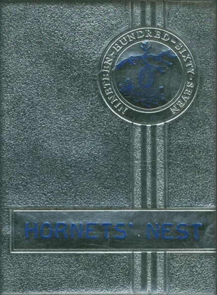 1967 Hooks High School Yearbook Cover