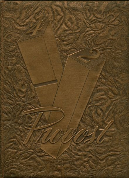 1942 Provo High School Yearbook Cover