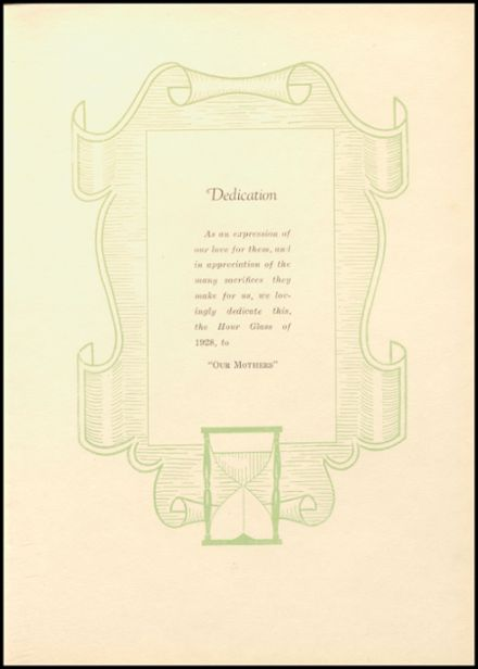 1928 Anniston High School Yearbook Page 7