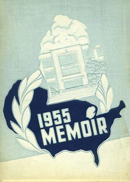1955 Grand Rapids Christian High School Yearbook Cover