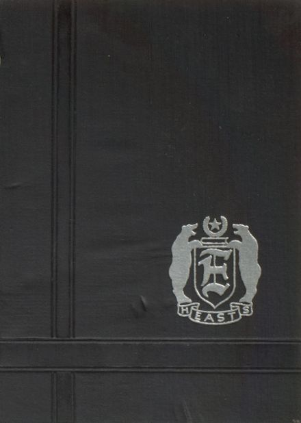 1936 East High School Yearbook Cover