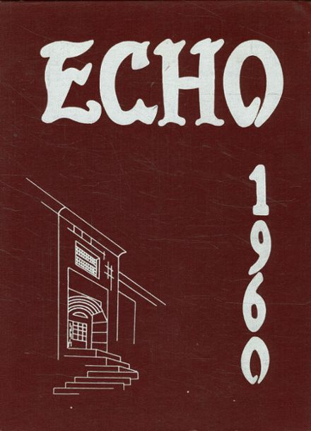 1960 Canton High School Yearbook Cover