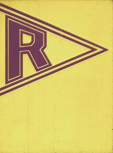 1967 Rogers High School Yearbook Cover