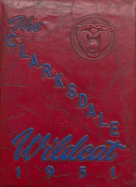 1951 Clarksdale High School Yearbook Cover