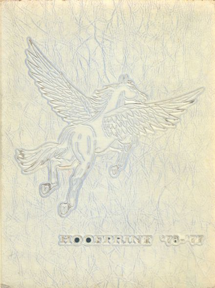 1977 San Dieguito High School Yearbook Cover
