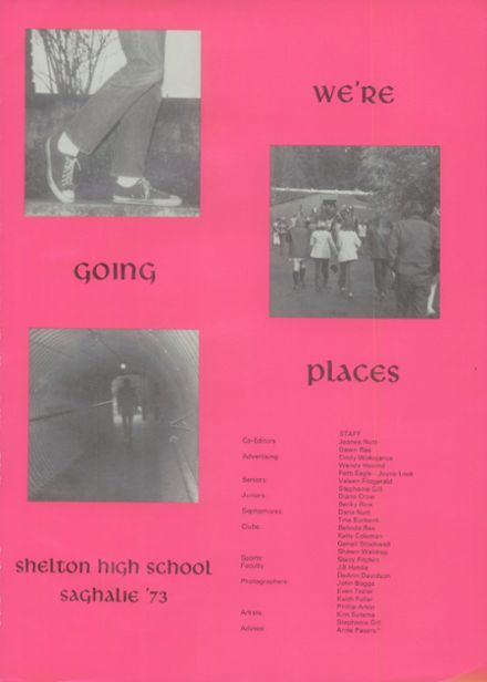 1973 Shelton High School Yearbook Page 5