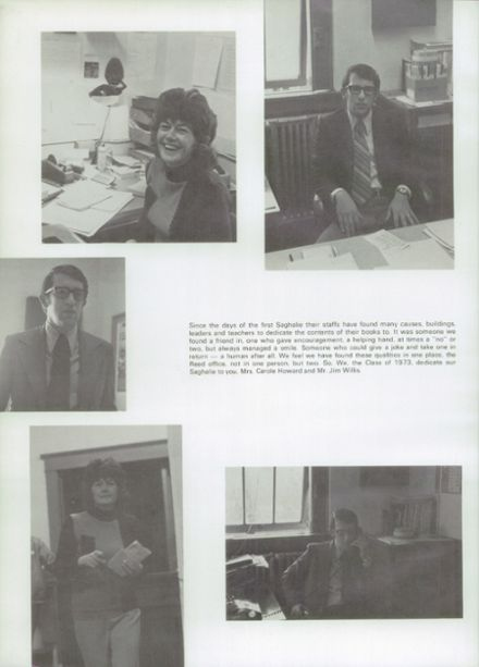 1973 Shelton High School Yearbook Page 6