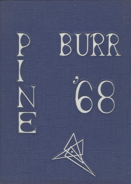 1968 Carthage High School Yearbook Cover