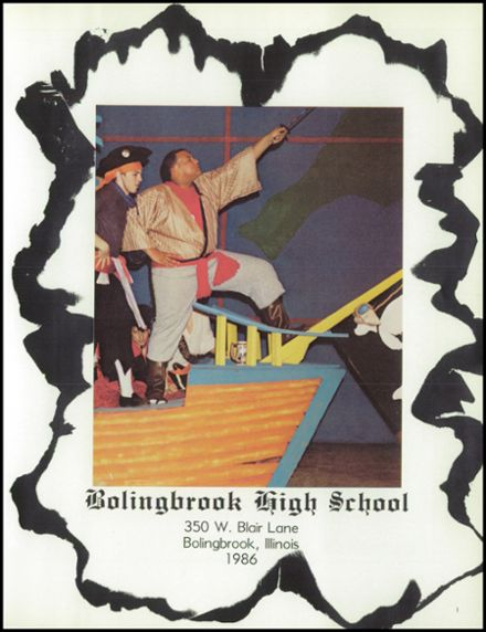1986 Bolingbrook High School Yearbook Page 5