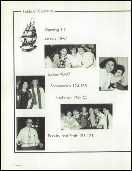 1986 Bolingbrook High School Yearbook Page 6