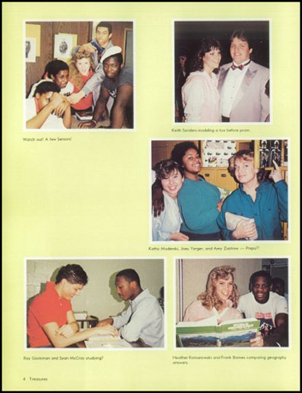 1986 Bolingbrook High School Yearbook Page 8