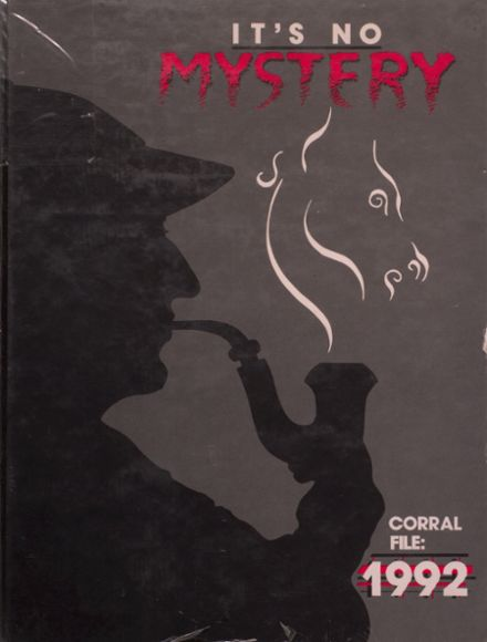 1992 Odessa High School Yearbook Cover