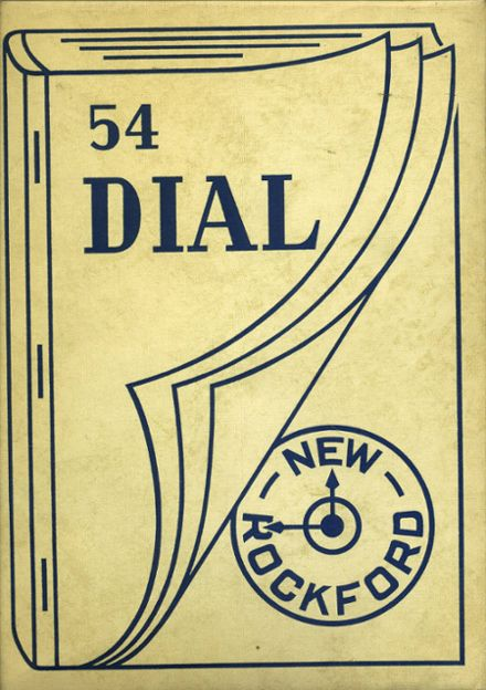 1954 New Rockford High School Yearbook Cover