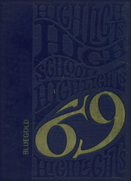 1969 Sumrall High School Yearbook Cover