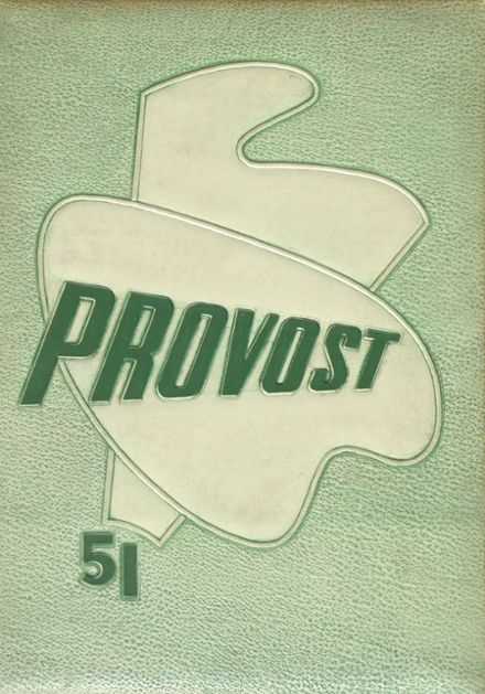 1951 Provo High School Yearbook Cover