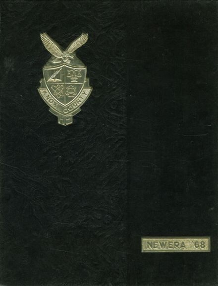 1968 Knox County High School Yearbook Cover