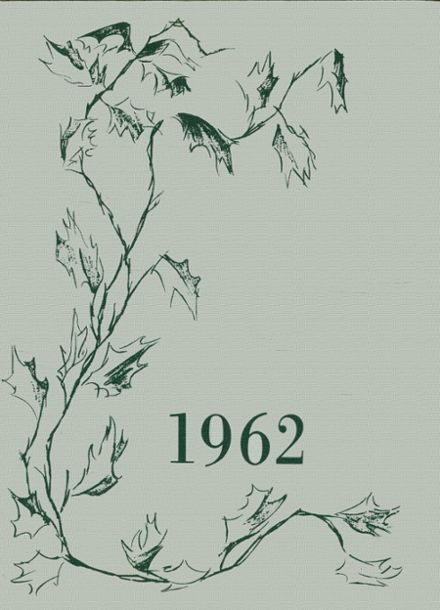 1962 Hannah More Academy Yearbook Cover