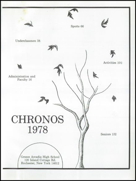 1978 Greece Arcadia High School Yearbook Page 5