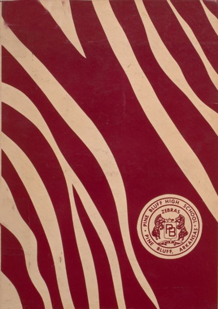 1970 Pine Bluff High School Yearbook Cover