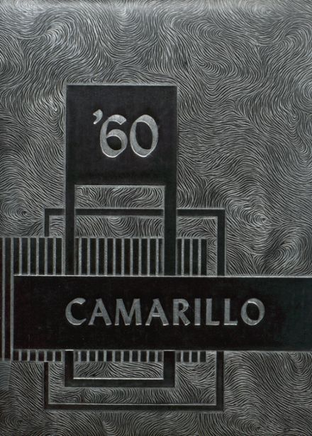 1960 Adolfo Camarillo High School Yearbook Cover